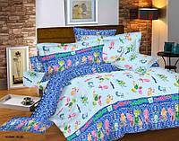 Ткань для постельного белья бязь, Голд Фиксики