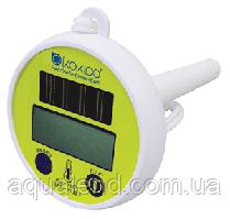 Термометр плаваючий, цифрової на сонячних батареях