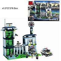 Конструктор Brick Enlighten 129 Полицейский участок 589 деталей, фото 1