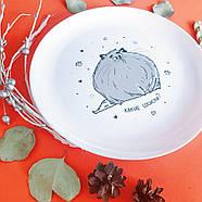 Тарелка «Какие сосиски?», фото 5