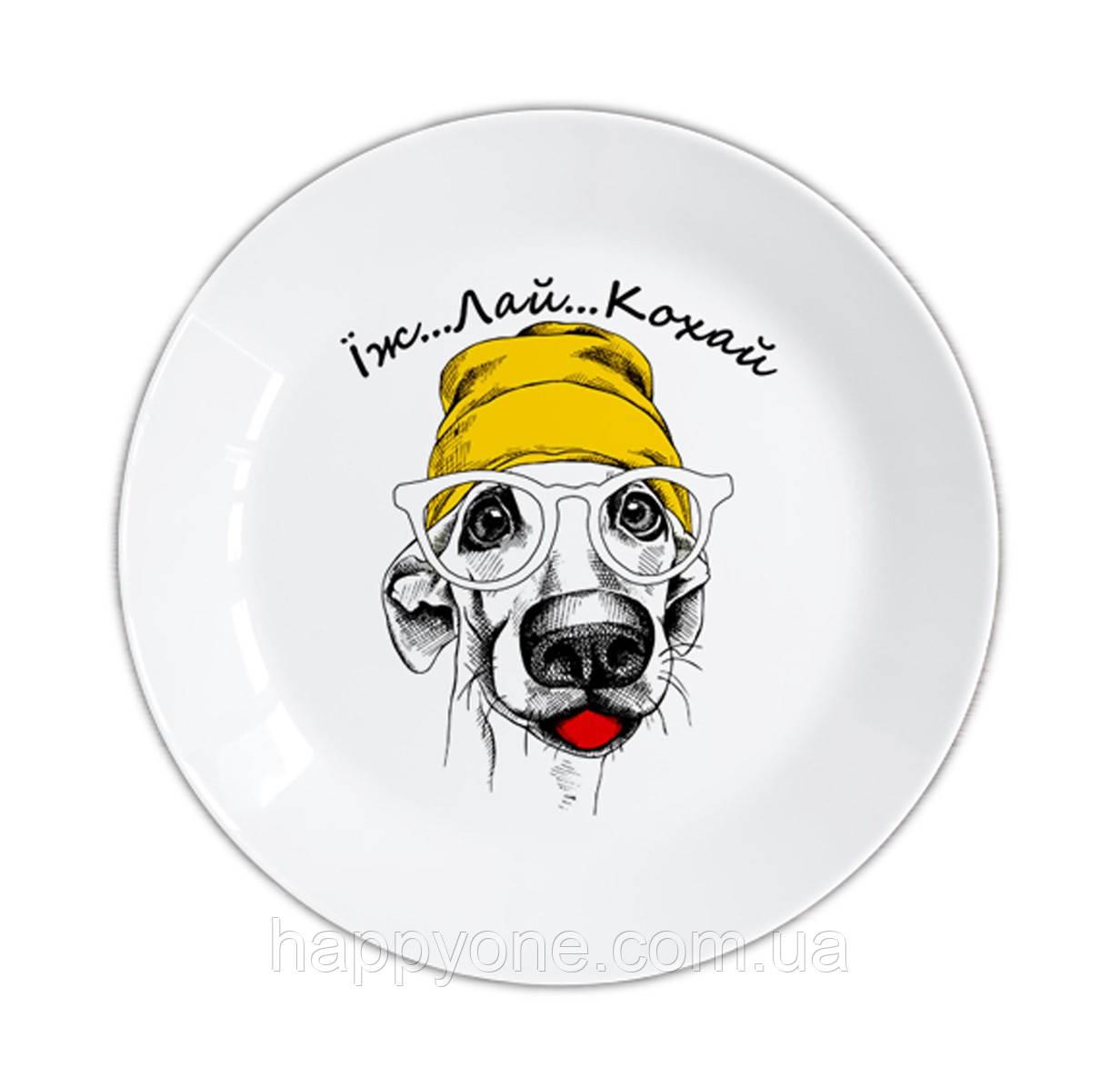 Тарелка «Їж Лай Кохай»