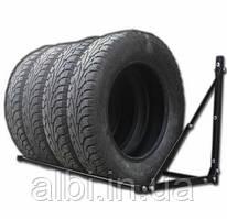 Стеллаж для хранения колес настенный раздвижной Складной