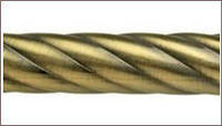 Труба твистер для карниза 16 мм