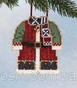 Набор для вышивки Mill Hill Santa's Coat