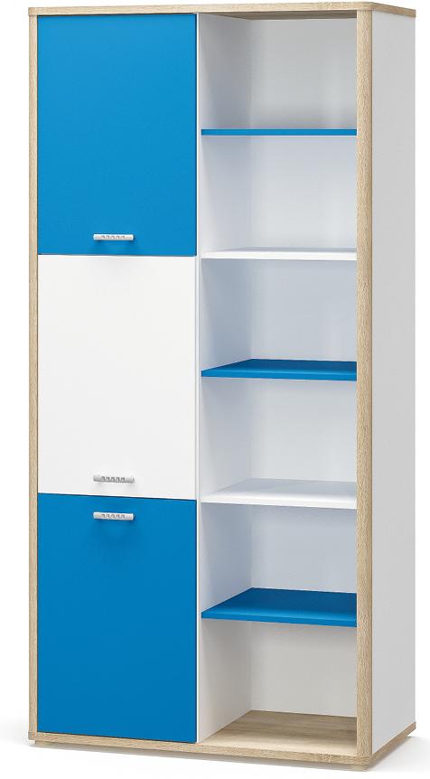Шкаф книжный Лео Мебель-сервис