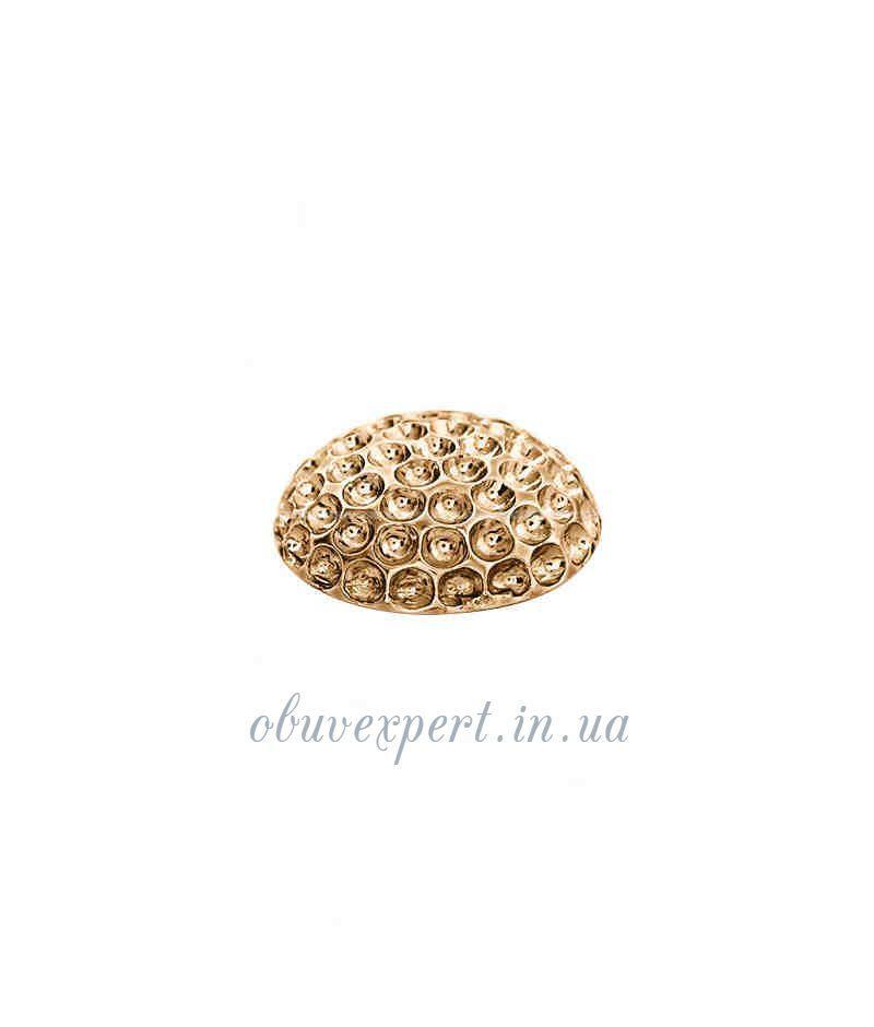 Декор средний  23 мм Красное золото