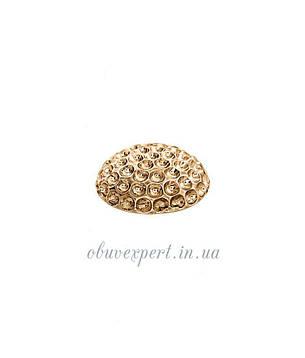 Декор средний  23 мм Красное золото, фото 2