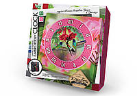 """Набор для творчества """"Embroidery clock"""" Колибри"""