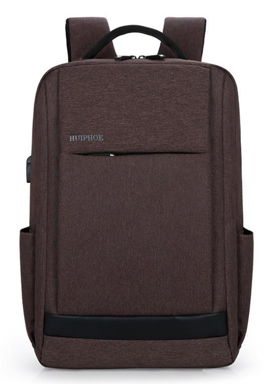 Рюкзак городской HF коричневый