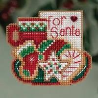 Набор для вышивки Mill Hill For Santa