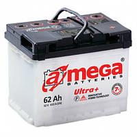 Аккумулятор A-Mega Ultra+, 62 А/ч 6CT-62-A3