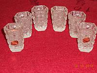 Сувенирный подарочный набор декоративных хрустальных стаканов  Bohemia