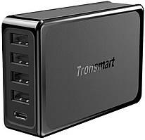 Сетевое зарядное устройство Tronsmart U5P 60W USB PD Desktop Charger with VoltiQ Black