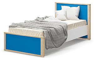 Кровать односпальная с ламелями 90 Лео Мебель-сервис