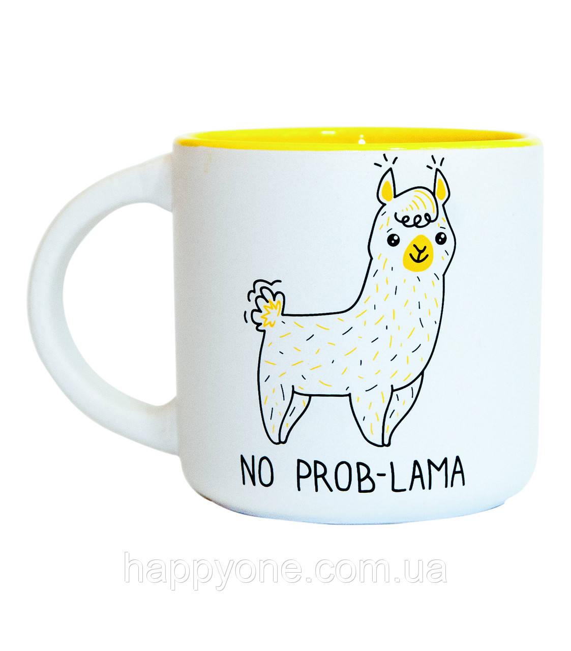 Чашка «No Prob-Lama» (350 мл)