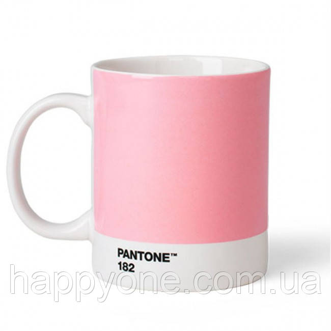 Кружка PANTONE Living Light Pink 182 (375 мл)
