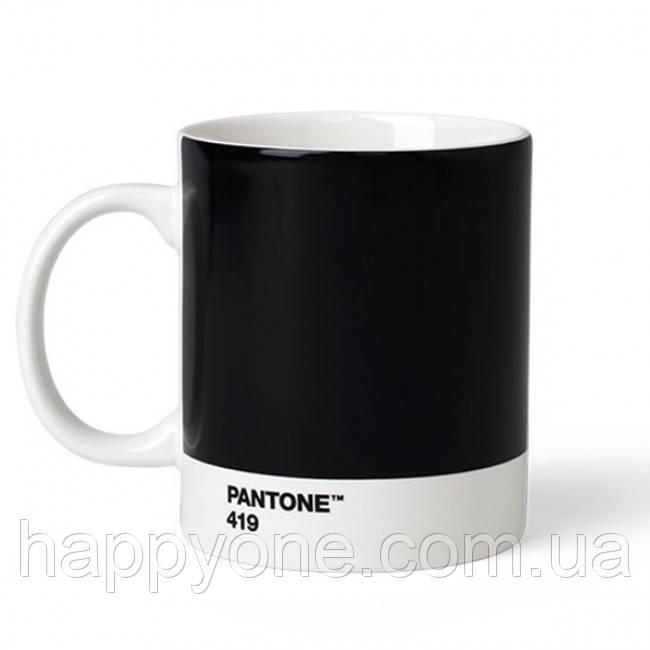 Кружка PANTONE Living Black 419 (375 мл)