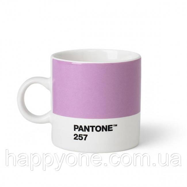 Чашка эспрессо PANTONE Living Light Purple 257 (120 мл)