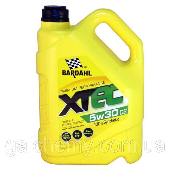 Моторне масло Bardahl XTEC 5W30 C2 4 л (36532)