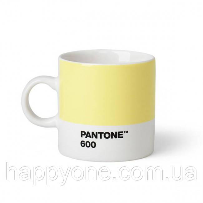 Чашка эспрессо PANTONE Living Light Yellow 600 (120 мл)