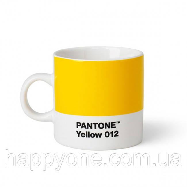 Чашка эспрессо PANTONE Living Yellow 012 (120 мл)