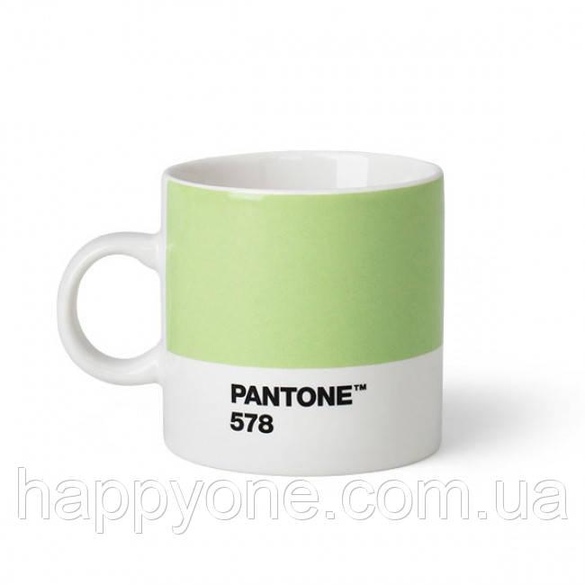 Чашка эспрессо PANTONE Living Light Green 578 (120 мл)