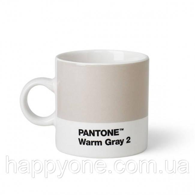 Чашка эспрессо PANTONE Living Warm Gray 2 (120 мл)
