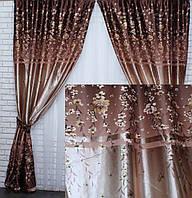 58bc6a618f9 Богатый комплект штор с тюлем интернет магазин производитель
