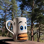 Чашка з відділенням для печива Cookie Monster Cup Donkey (біла), фото 4
