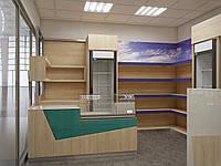 Торговое оборудование для хозяйственных магазинов, торговая мебель изготовить