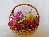 Подарочная конфетная корзина, фото 1