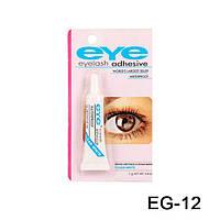 Клей для ресниц Eye Eyelash (прозрачный), 7г.