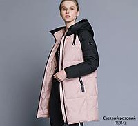 Женская зимняя куртка с капюшоном..Арт. 16314, фото 1