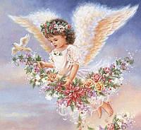Алмазная мозаика MyArt Светлый ангелок 40 х 30 см (арт. FS800), фото 1