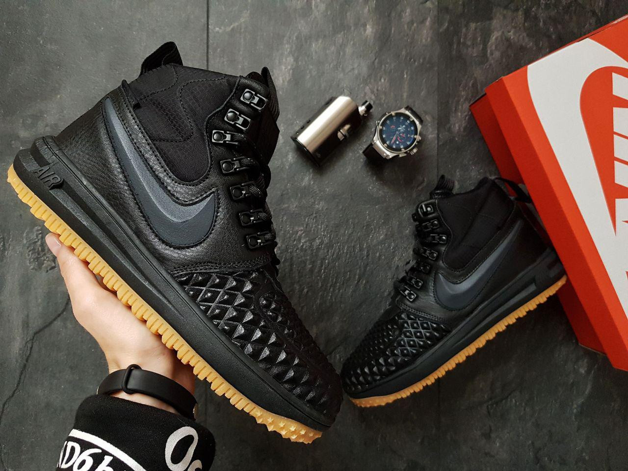 0c4d3ab1bd8e Кроссовки Nike Air Force 1 Dackboot 17 / Black|White (реплика ...