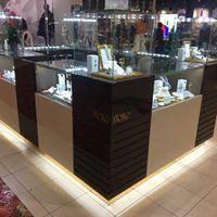 Торговое оборудование для магазинов украшений , торговая мебель изготовить, ювелирные магазины