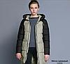 Жіноча зимова куртка з капюшоном..Арт. 16819