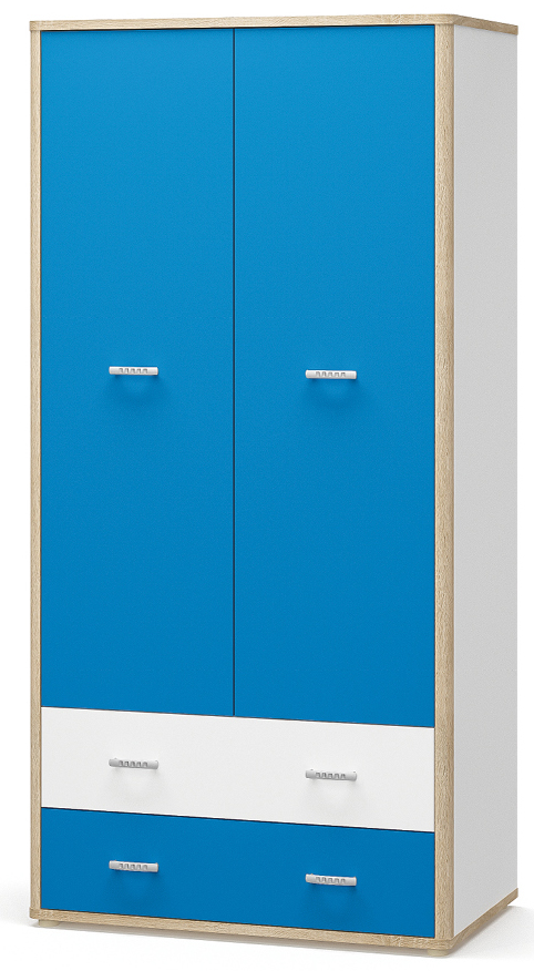 Шкаф 2Д2Ш Лео Мебель-сервис