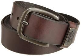 Ремни кожаные Levis Men's Bridle Belt With Ornament  BROWN