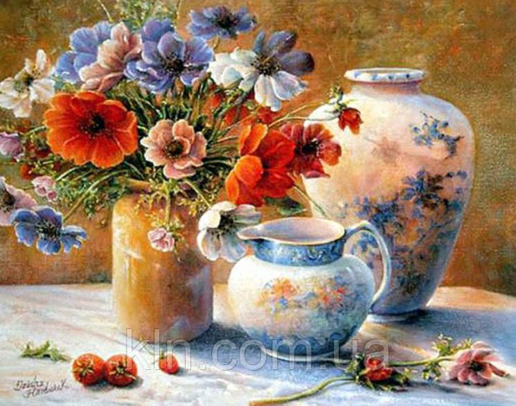 Алмазная мозаика без коробки MyArt Сладкий аромат цветов 40 х 30 см (арт. MA802)
