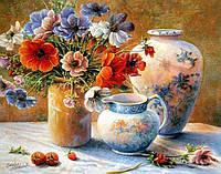 Алмазная мозаика без коробки MyArt Сладкий аромат цветов 40 х 30 см (арт. MA802), фото 1