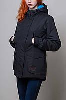 Женская зимняя парка/куртка Olymp черная реплика