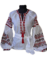 "Жіноча вишита сорочка (блузка) ""Деллі"" (Женская вышитая рубашка (блузка) ""Делли"") BK-0003"