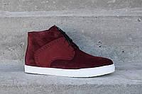Замовляйте зимові черевики VadRus - у них вам буде тепло! Дизайн і червоний  колір стильно e3616638113fc
