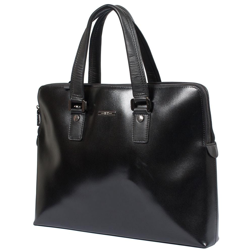 77b9ad94b027 Мужская кожаная сумка для документов А4 и ноутбука 15