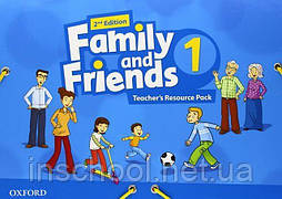 Family and Friends 2nd Edition 1 Teacher's Resource Pack ISBN: 9780194809290