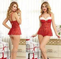 Новогоднее платье / Эротическое белье / Сексуальное белье / Еротична сексуальна білизна