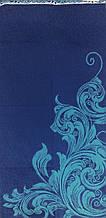 Полотенце махровое 67*150 ВЕНЗЕЛЬ синий 100% хлопка (шт.)
