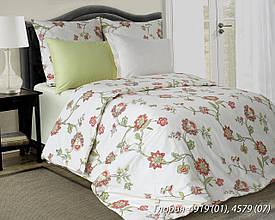 Комплект постельного белья полуторный  ГЛОРИЯ (навол.50*70)