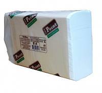 Бумажные полотенца листовые, белые, Z-укладка, 2 слоя,  EcoPoint, Standart. ZS-200.